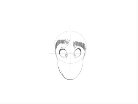 Drawing Head Step 2